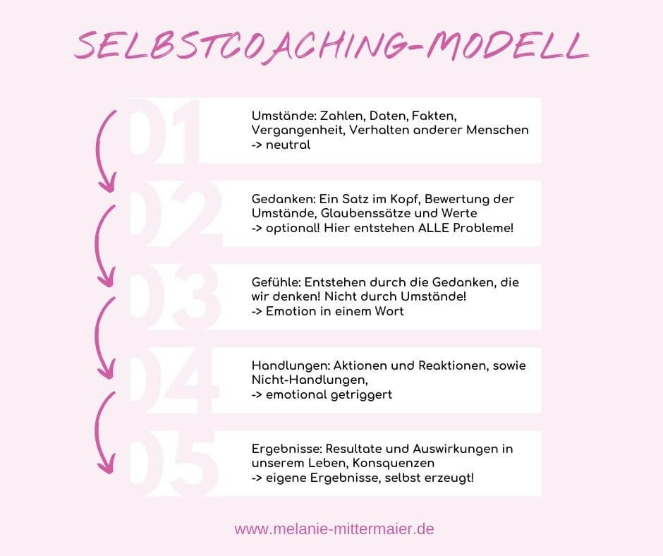 Selbstcoaching-Modell
